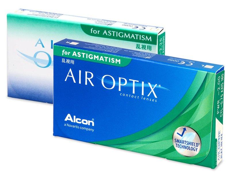 Air Optix for Astigmatism (6čoček) - Torické kontaktní čočky