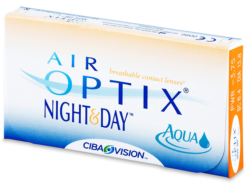 Air Optix Night and Day Aqua (6 čoček) - Předchozí design