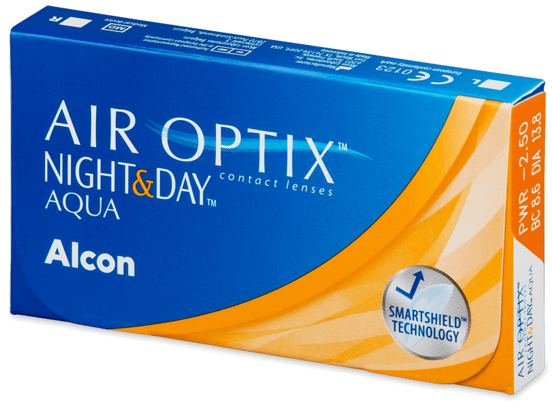 Air Optix Night and Day Aqua (3čočky) - Měsíční kontaktní čočky