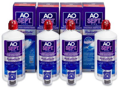 Roztok AO SEPT PLUS HydraGlyde 4 x 360ml